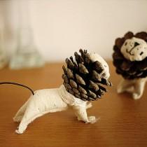Pine Cone Lion