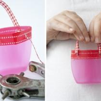 Shampoo Bottle Crafts – Mini Handbags