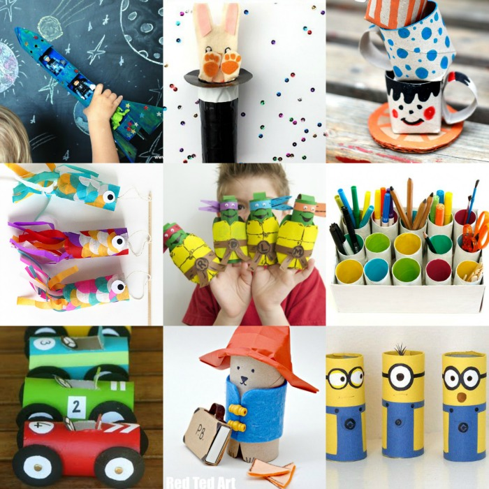 10 Fantastic TP Roll Crafts Fun Kids