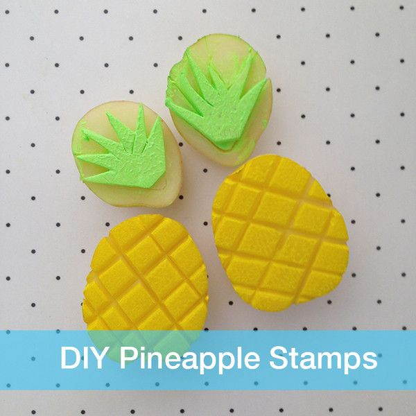 DIY Pineapple Stamp