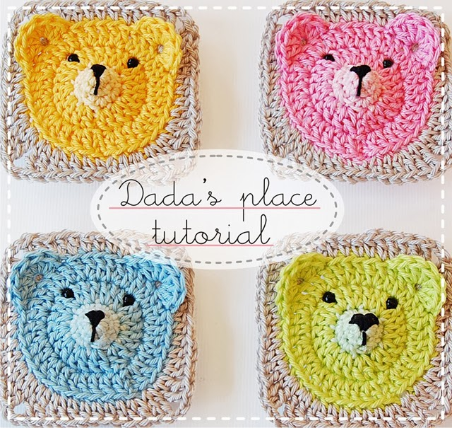 Crochet Bear Blanket Pattern