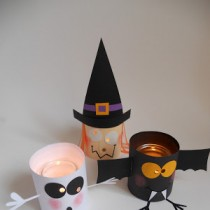 Cute Halloween Paper Lanterns