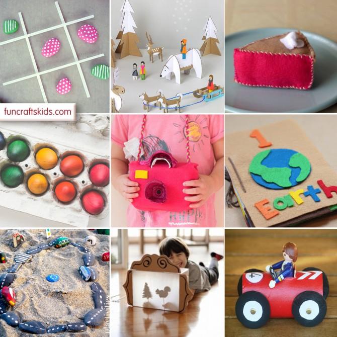 10 fantastic homemade toys