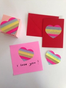 How to make Washi Tape DIY Stickers - such a fun way to create your own designs (1)