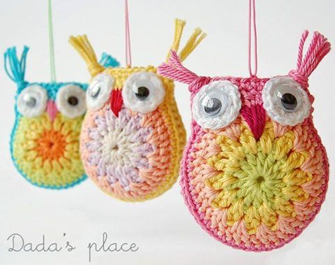 Owl crochet pattern fun crafts kids for Crochet crafts for kids
