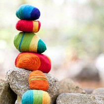 Yarn Wrapped Rocks