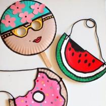 Summer Paper Plate Crafts