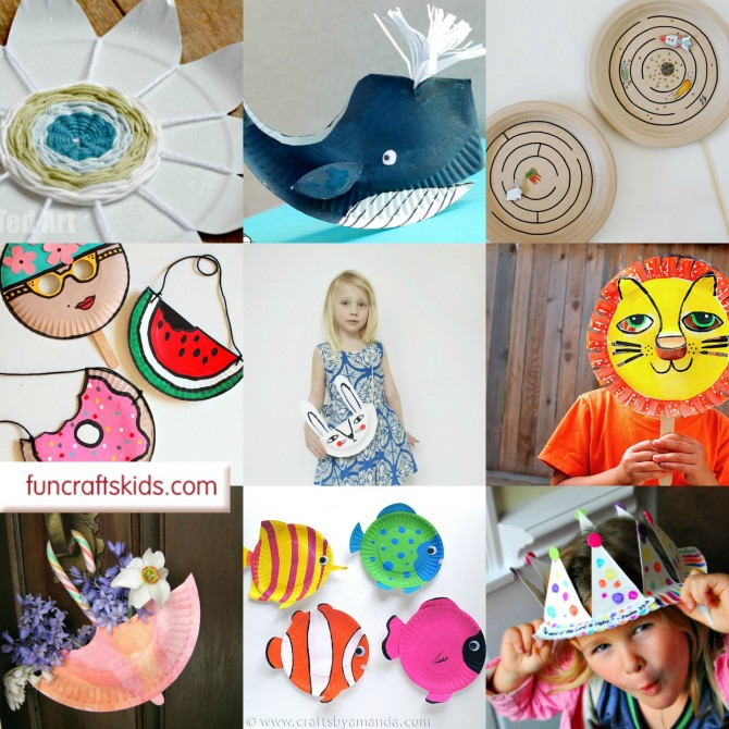 17 Paper Plate Crafts