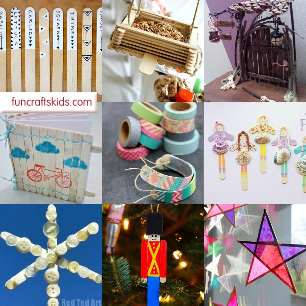 18 Great Craft Stick Crafts via Fun Crafts Kids