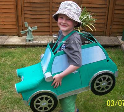 homemade car costume