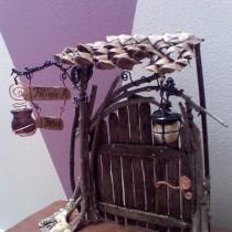 Craft Stick Fairy Door
