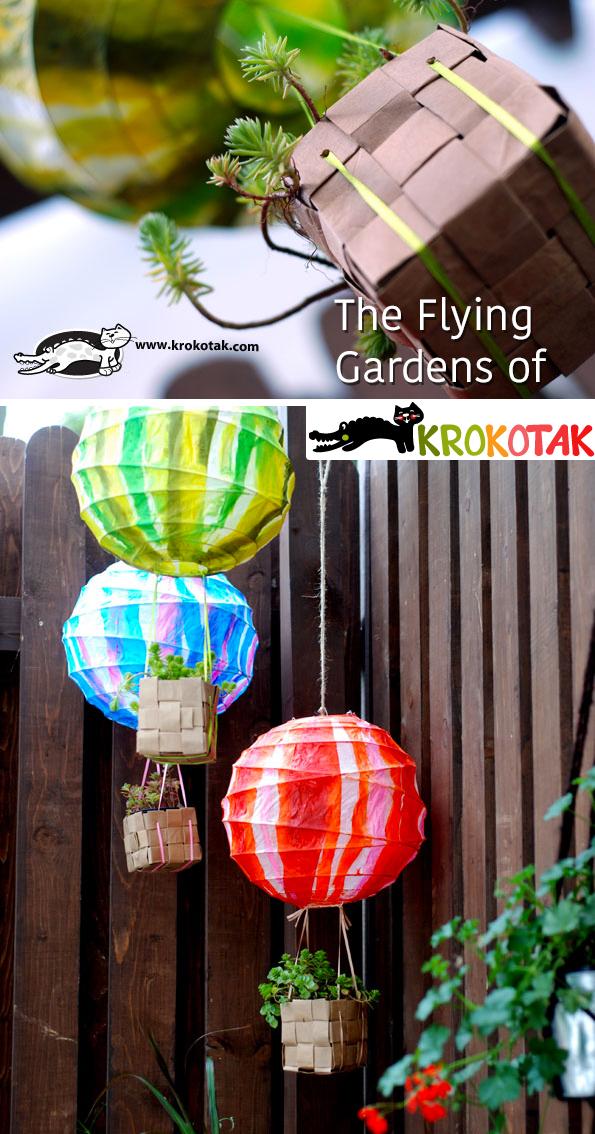 Adorable Hot Air Balloon Craft