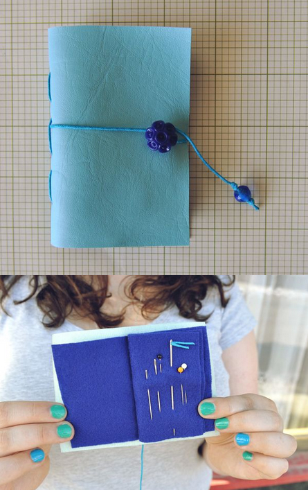 make your own needle wallet
