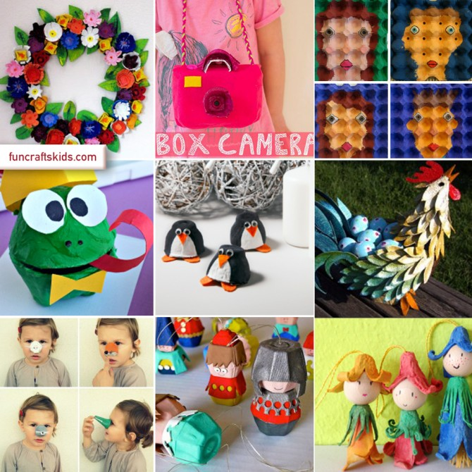 10 fantastic egg carton crafts round up