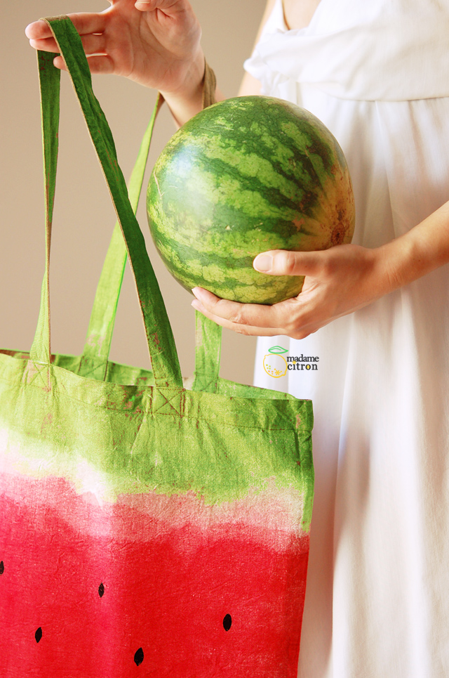 DIY Water Melon Bag
