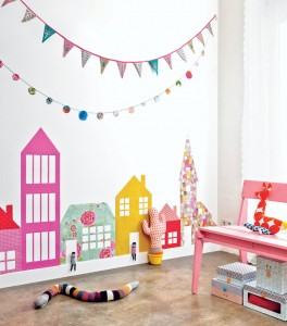 House Themed Wall Art for kids rooms