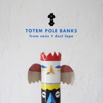 Duct Tape Totem Banks