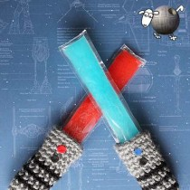 Light Saber Freezies Holder