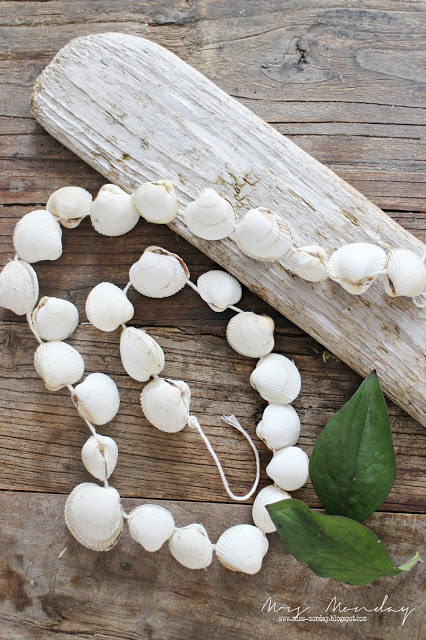 Summer DIY Sea Shell Necklace Craft