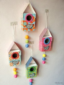 Bird House Craft Fun Crafts Kids