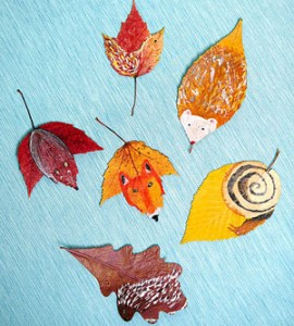 leaves art