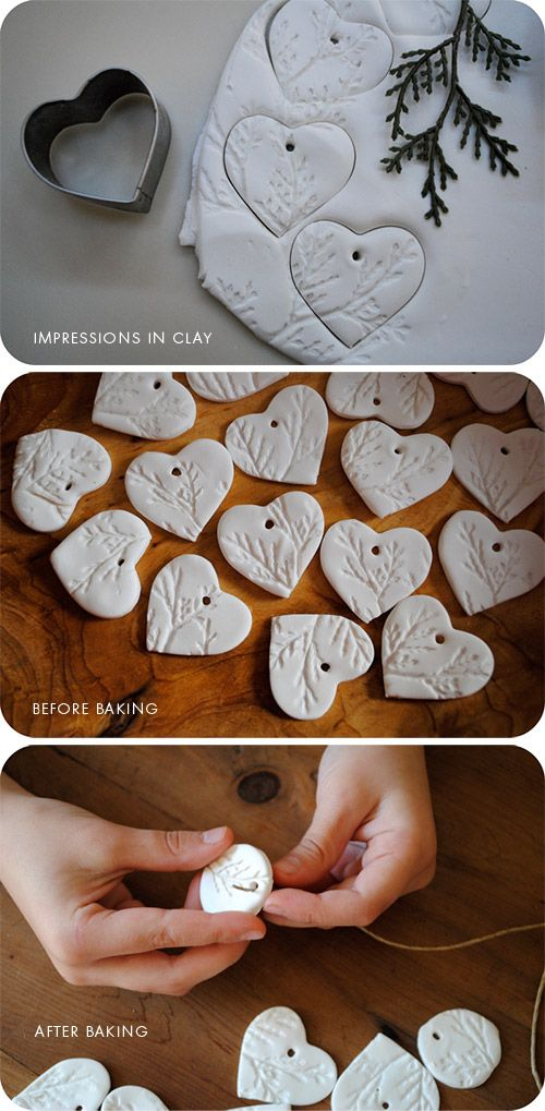 Clay Heart Impressions