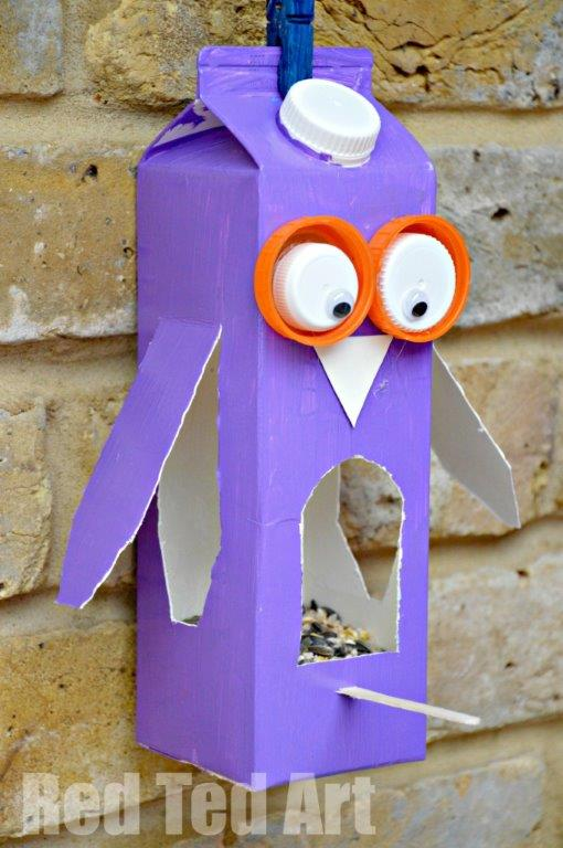 Juice-Carton-Crafts-Bird-Feeder