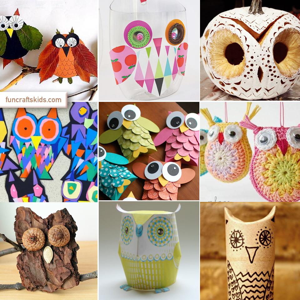 owl craft round up