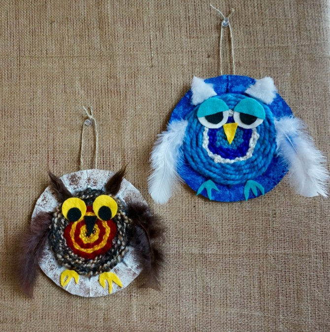 Woven Owl Craft