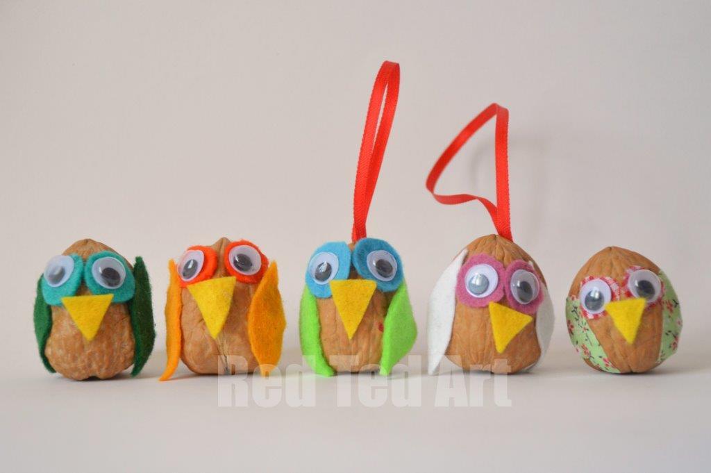 Walnut-Owl-Craft