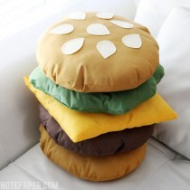 Burger Cushions