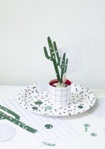 free printable cactus cake topper