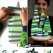 Paper Christmas Tree Craft