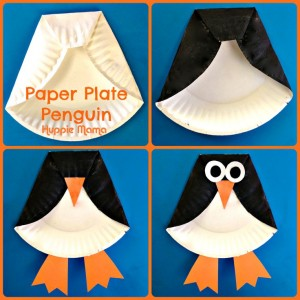 penguin plate craft
