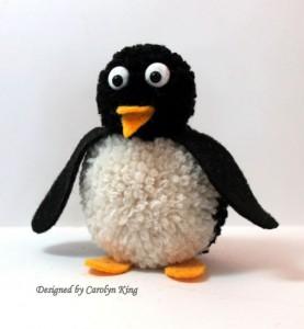 penguin pom pom