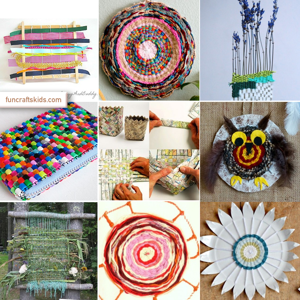 weaving craft round up