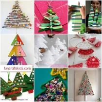 12+ Christmas Tree Crafts