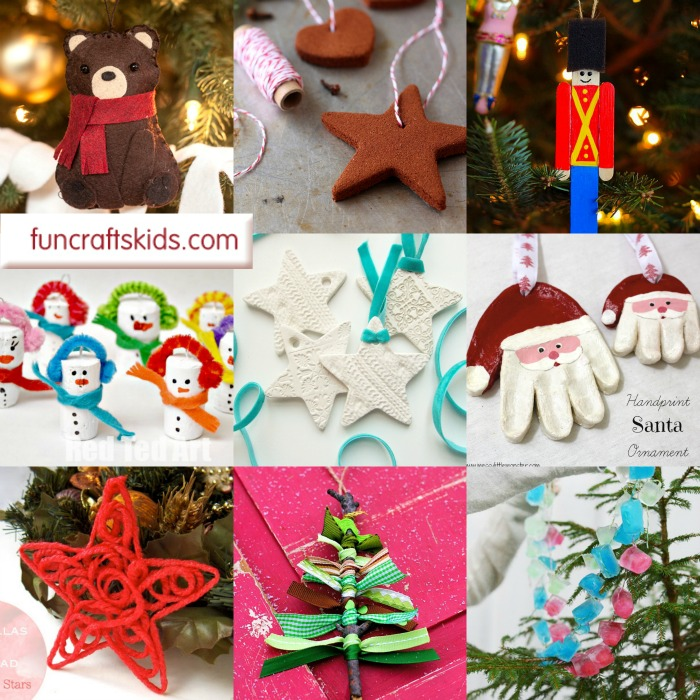 25+ Christmas Tree Ornament Crafts - these are fun to make and are beautiful keepsakes