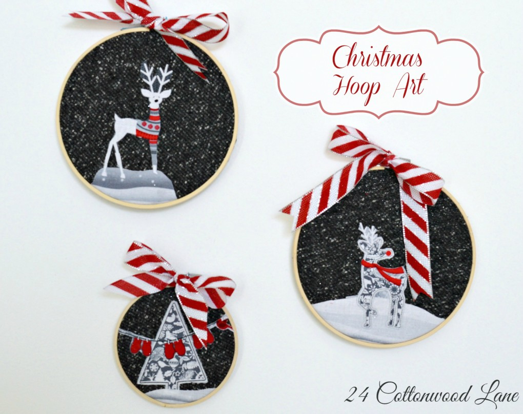DIY Winter Decorations - lovely for Christmas too
