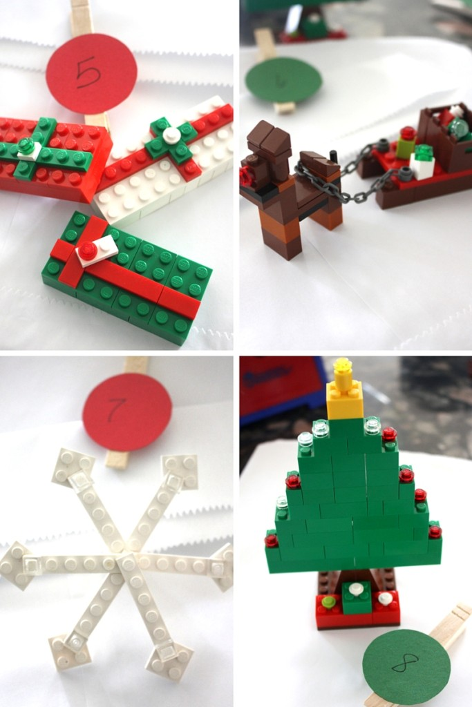 LEGO Ornaments & Christmas Makes