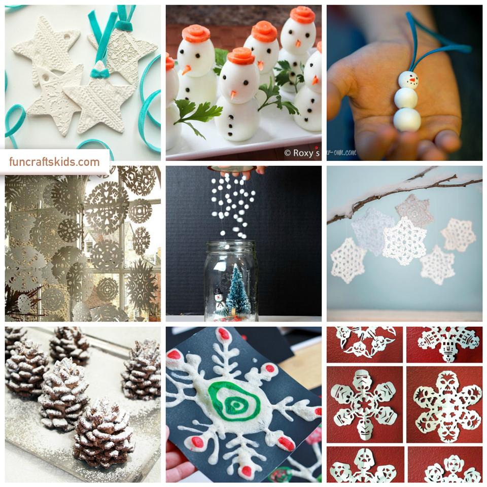 Snow crafts round up