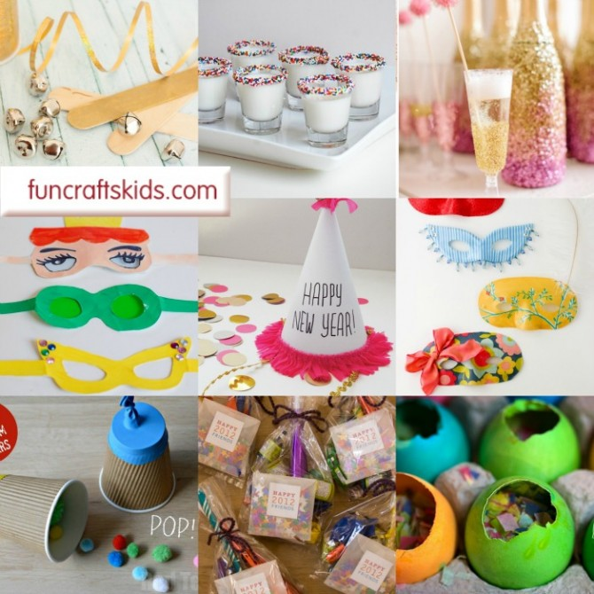 12 New Year S Eve Ideas Fun Crafts Kids