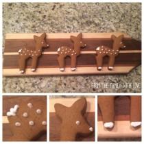 Super Simple Gingerbread Deers – How Lovely!
