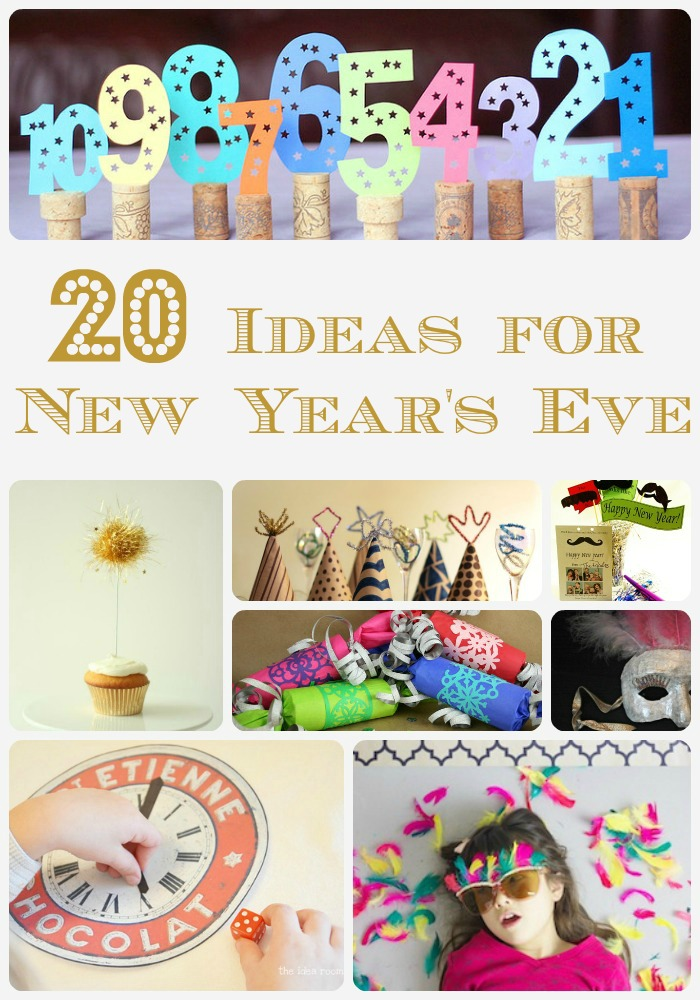 12 New Year's Eve Ideas - Fun Crafts Kids