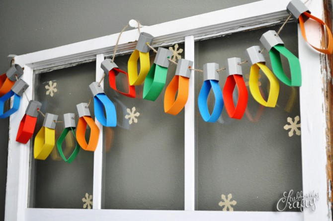 Christmas Lights Garland