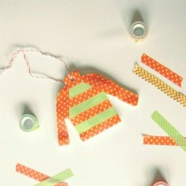 Washi Tape Ornaments & Gift Tags