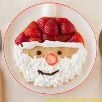 Easy Santa Pancakes! (Vegan)