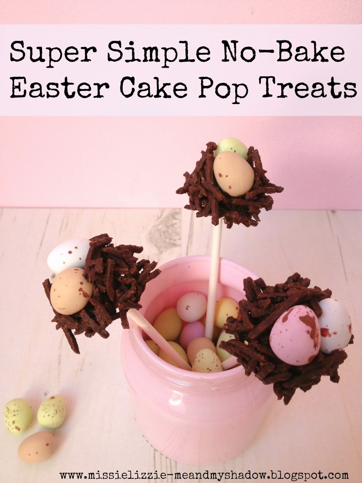 Easy DIY Easter Cake Pops