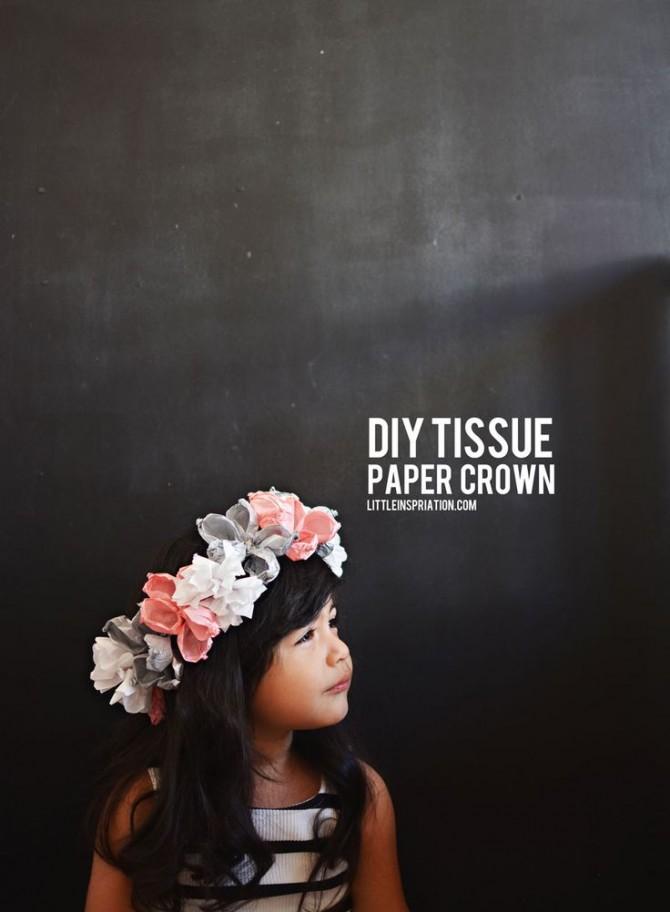 Easy to make DIY Paper Crown