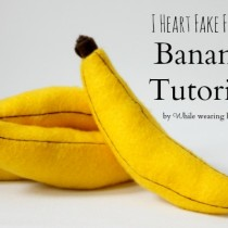 Felt Banana DIY Craft